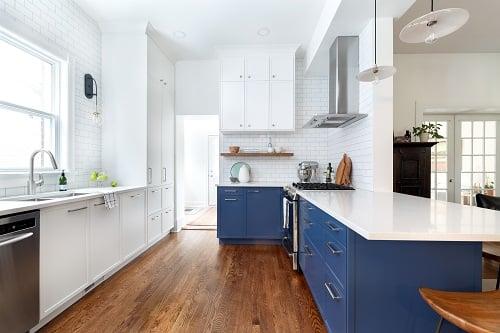 IKEA SEKTION Kitchen with Swedish Door Cabinet Doors