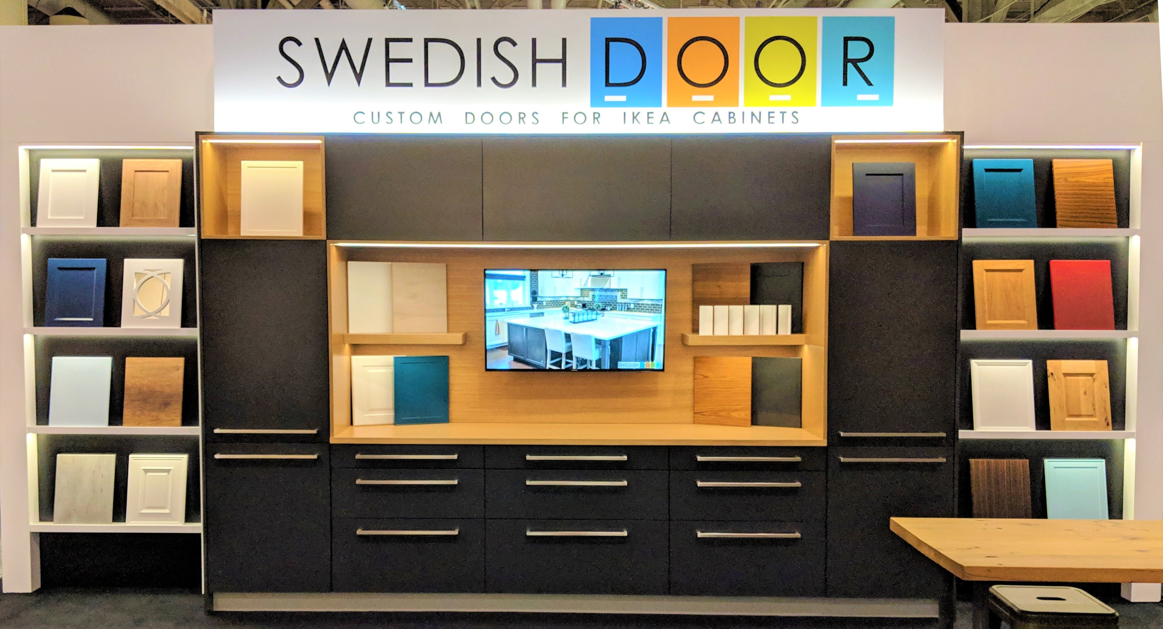 SwedishDoor IDS19 Booth