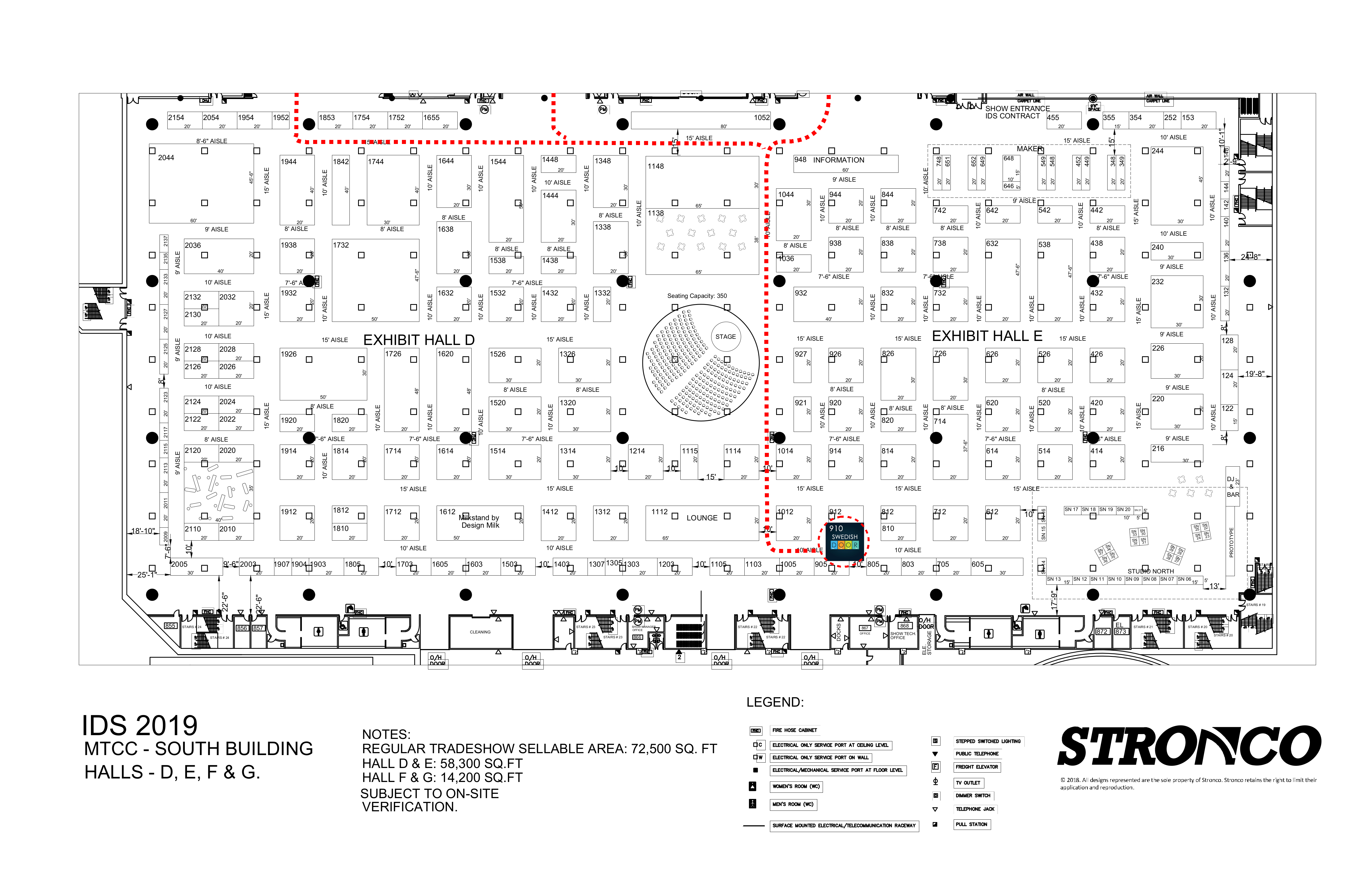 IDS 19 Floor Plan