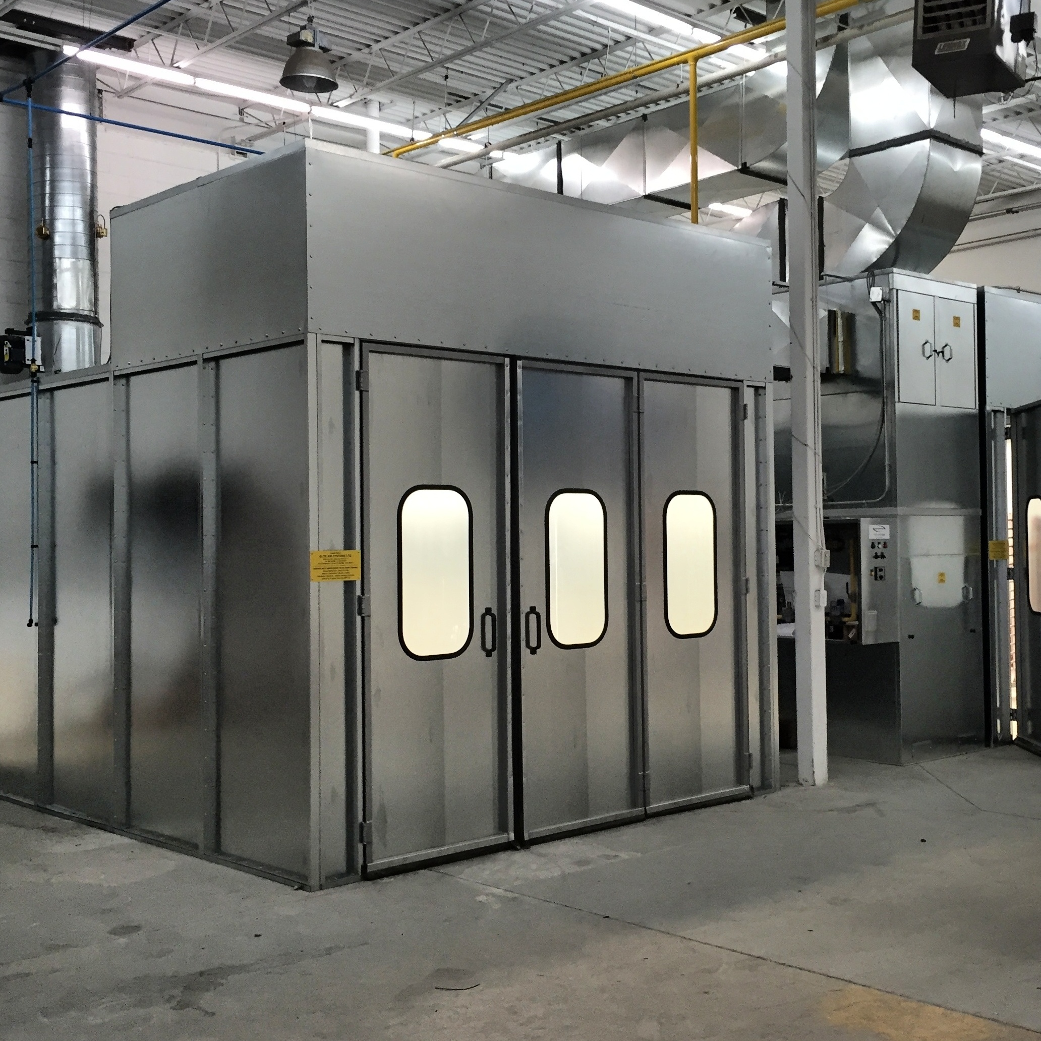 Professional Wood Finishing Spray Booths in Ottawa